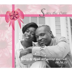 Full Color Save the Date Magnet (4